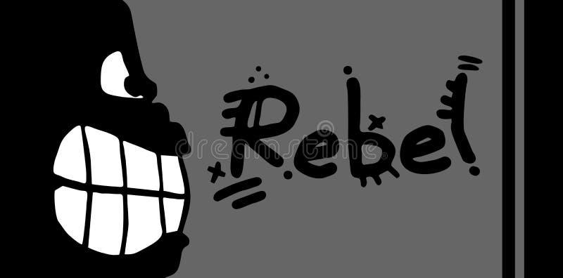 Rebellen kaart vector illustratie