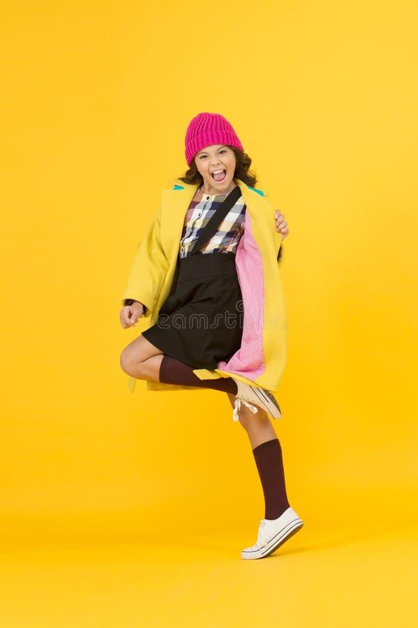 Rebellious teen. Street style. Rebel teen girl. Madcap concept. Teen age. Girl adorable stylish modern teenager. Cool. Schoolgirl. Have fun charismatic girl on royalty free stock photo