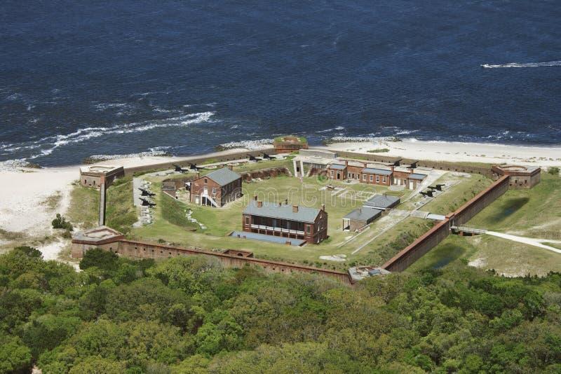 Rebitamento do forte. imagem de stock