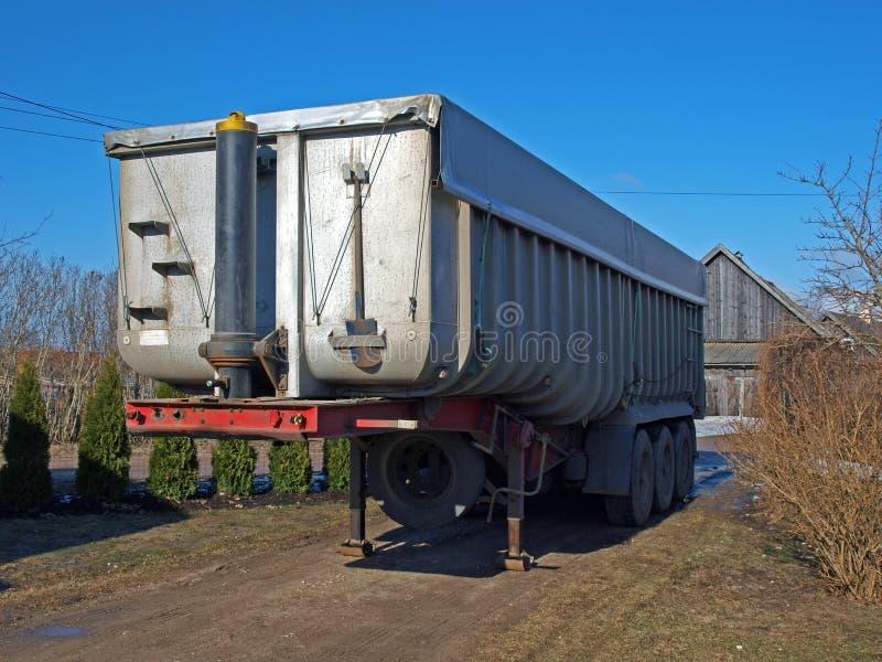 Reboque do caminhão imagens de stock