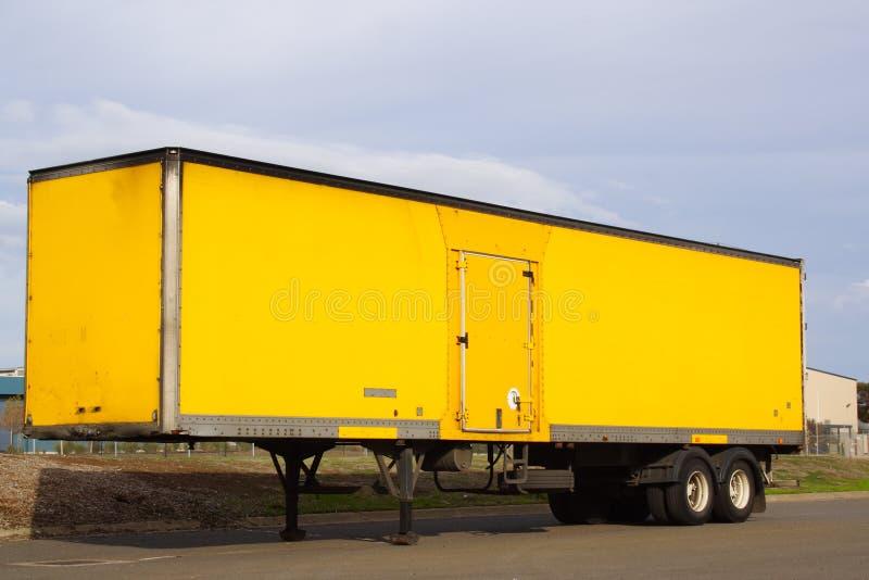 Reboque do caminhão fotografia de stock