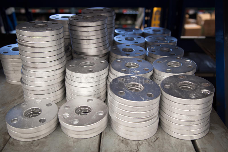 Reborde de aluminio fotos de archivo
