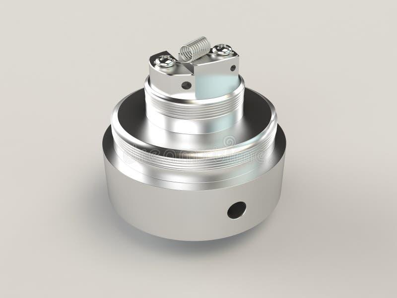 Rebuildable Vaping atomizator ilustracji