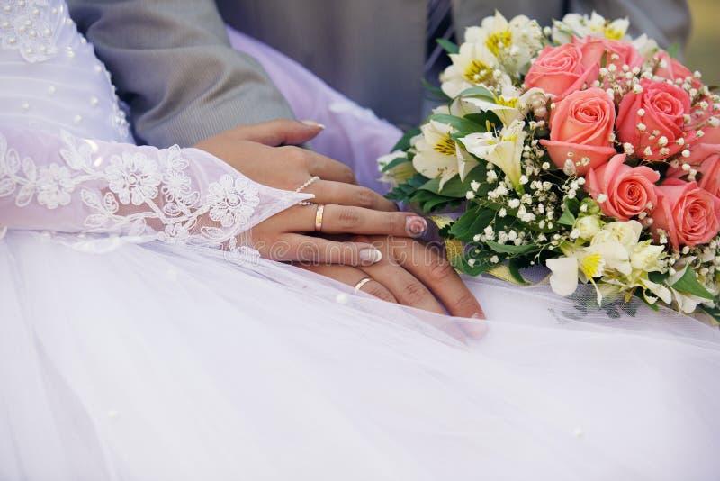 Recém-casados imagem de stock