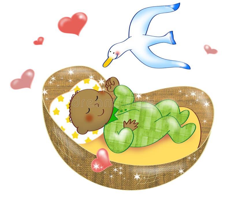Recém-nascido ilustração stock