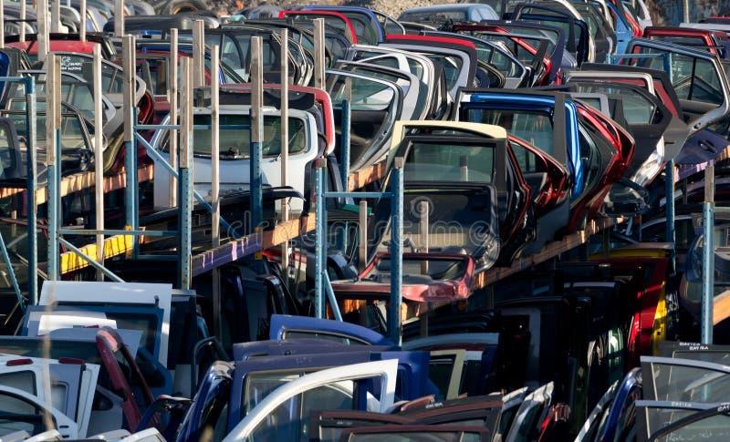 Recambios del coche usado fotos de archivo libres de regalías