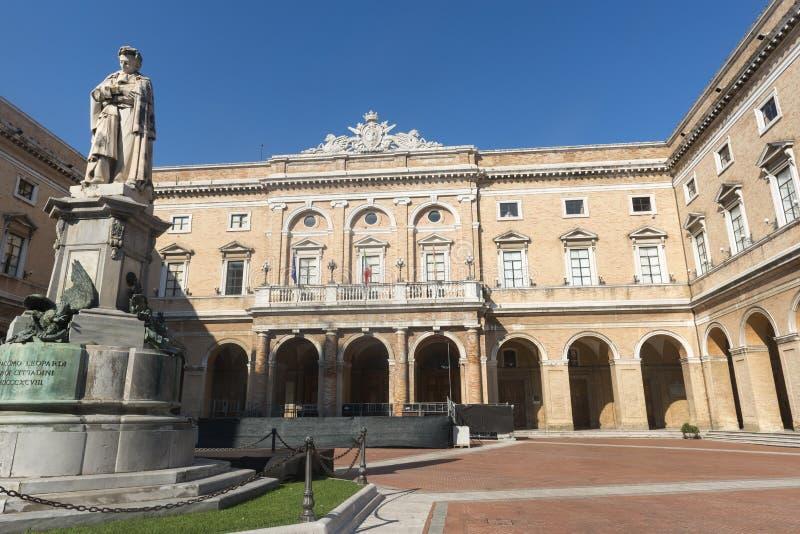 Recanati (marzos, Italia) imágenes de archivo libres de regalías