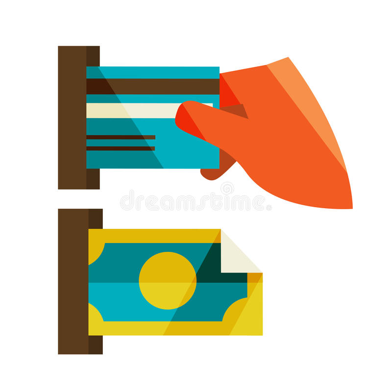 Download Receipt of money stock illustration. Illustration of machine - 38829859