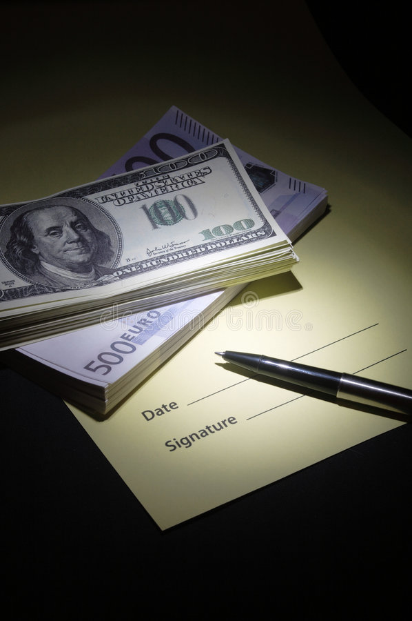 Receipt for money received stock image. Image of money - 7727617