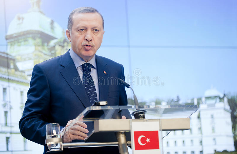 Recep Tayyip Erdogan lizenzfreie stockfotografie