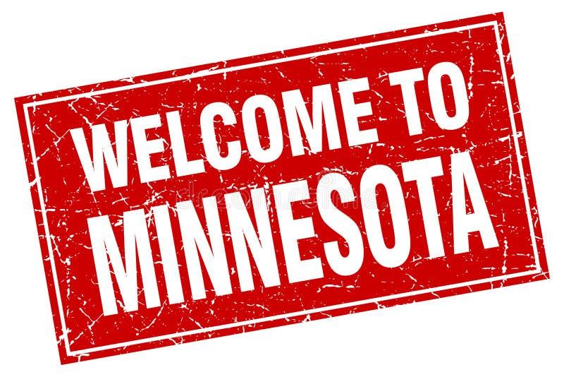 Recepción al sello de Minnesota stock de ilustración