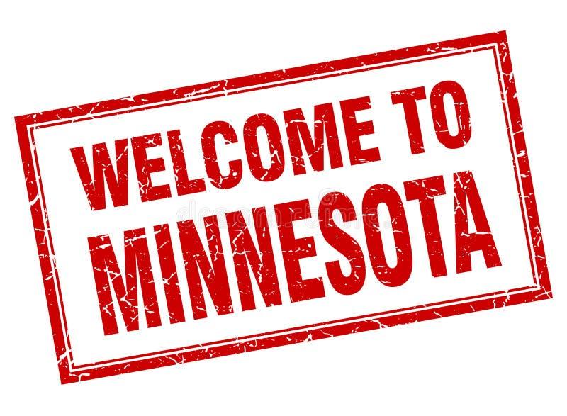 Recepción al sello de Minnesota ilustración del vector