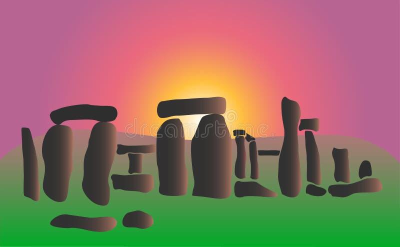 Recepción al stonehenge libre illustration