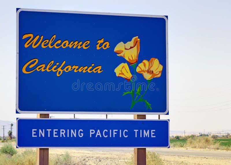 Recepción a California imagenes de archivo