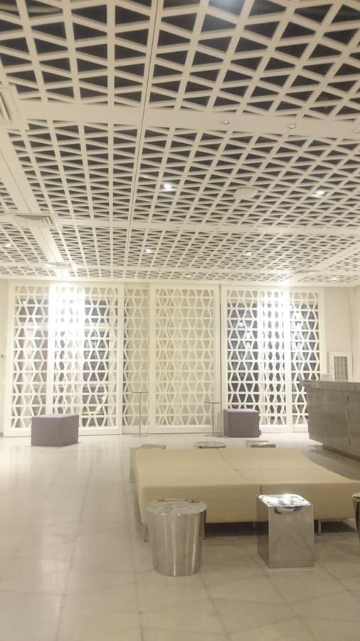 recepción del interior de la universidad fotos de archivo
