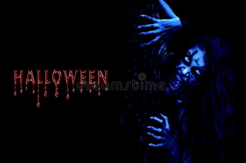 Recepción a Halloween fotografía de archivo libre de regalías