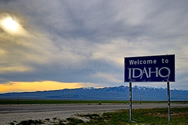 Recepción a Idaho imagen de archivo