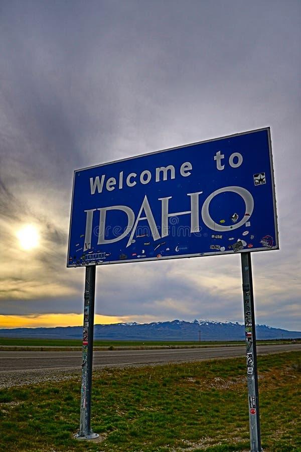 Recepción a Idaho imágenes de archivo libres de regalías