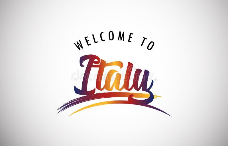 Recepción a Italia libre illustration