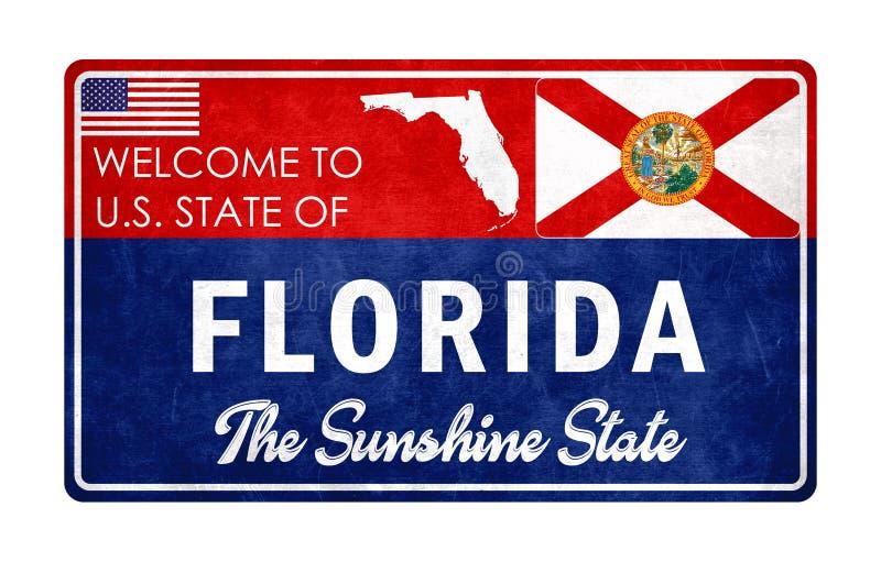 Recepción a la Florida ilustración del vector