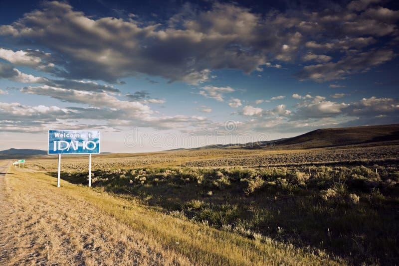 Recepción a la muestra de Idaho imagen de archivo libre de regalías
