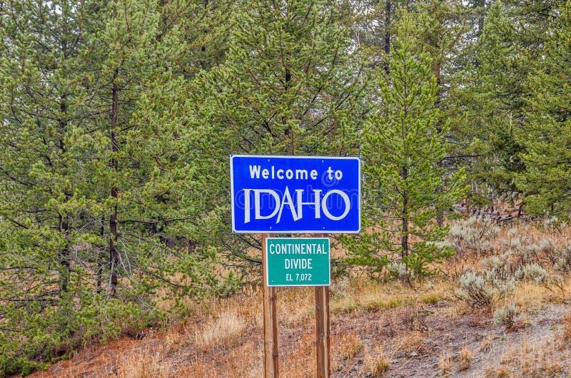 Recepción a la muestra de Idaho imagenes de archivo