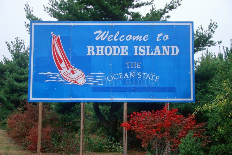 Recepción a la muestra de Rhode Island foto de archivo libre de regalías