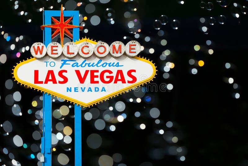 Recepción a Las Vegas imagen de archivo libre de regalías
