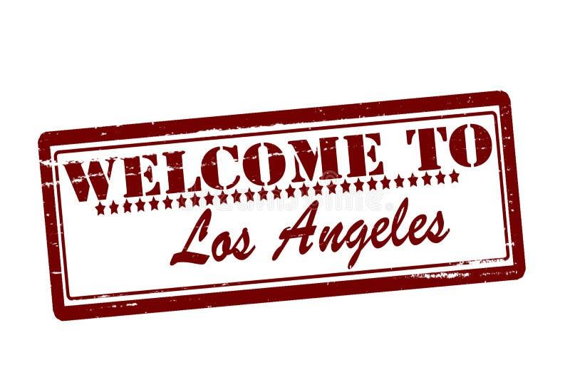 Recepción a Los Ángeles ilustración del vector