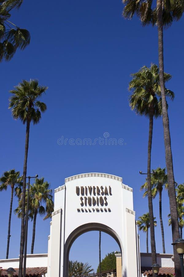 Recepción a los estudios universales, Los Ángeles imagen de archivo libre de regalías