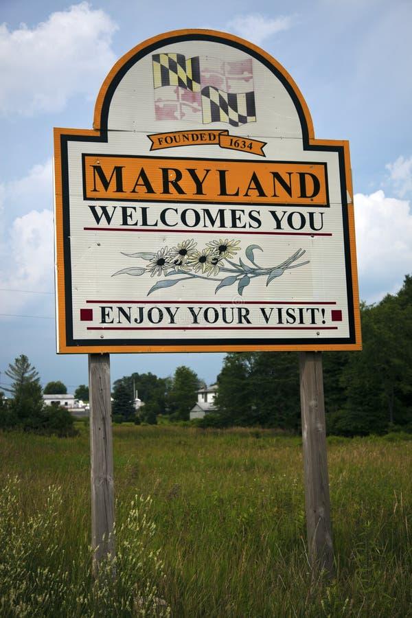 Recepción a Maryland fotos de archivo