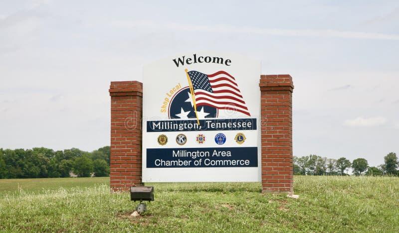 Recepción a Millington, Tennessee imagen de archivo libre de regalías