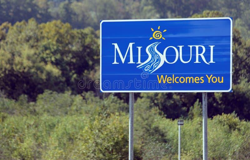 Recepción a Missouri imagen de archivo