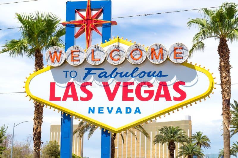Recepción muestra de Las Vegas fabuloso, Nevada imagen de archivo libre de regalías