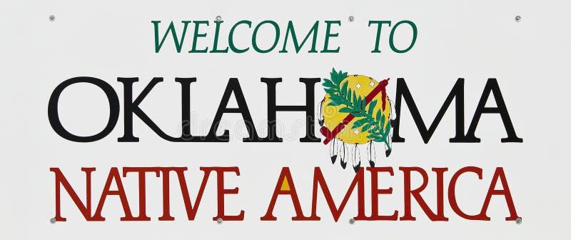 Recepción a Oklahoma imagenes de archivo