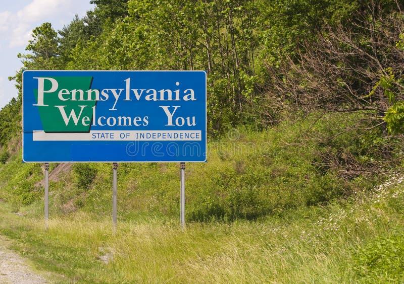Recepción a Pennsylvania fotografía de archivo