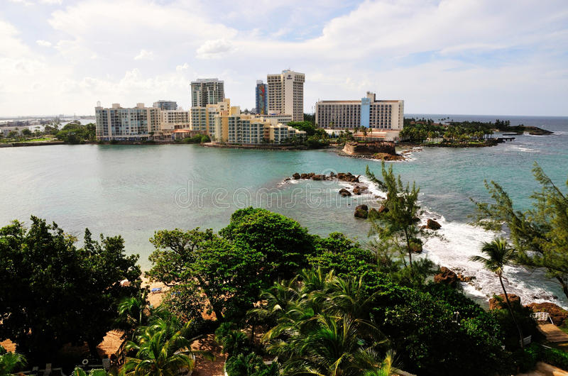 Recepción a Puerto Rico imagenes de archivo