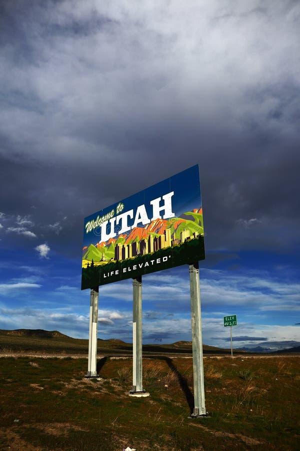 Recepción a Utah - vida elevada imagen de archivo