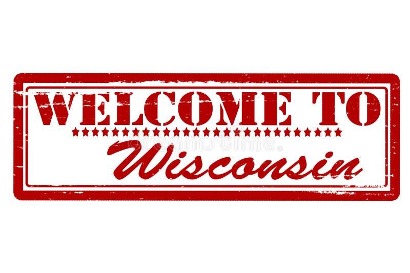 Recepción a Wisconsin stock de ilustración