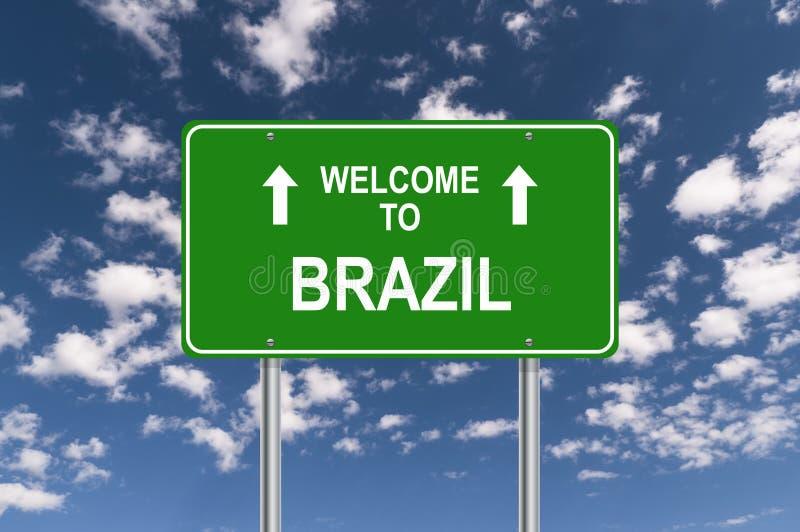 Recepci?n al Brasil imágenes de archivo libres de regalías
