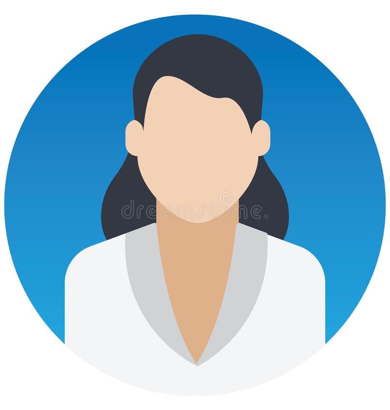 Recepcionista Vetora Illustration Icon que pode facilmente alterar ou editar ilustração do vetor