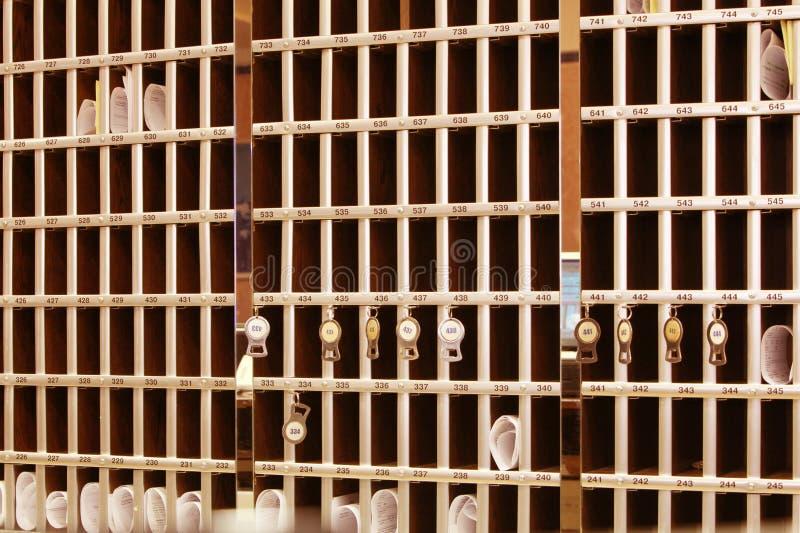 Recepcyjne komórki fotografia royalty free