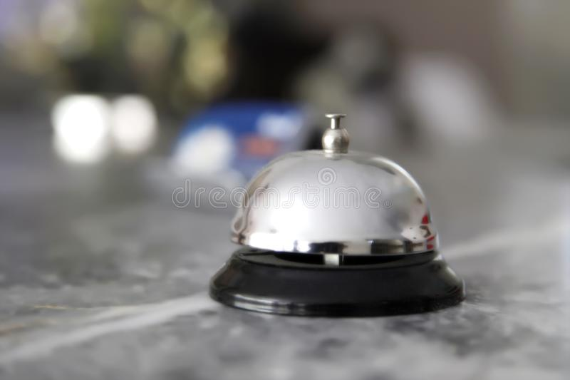 Recepion bell stock images