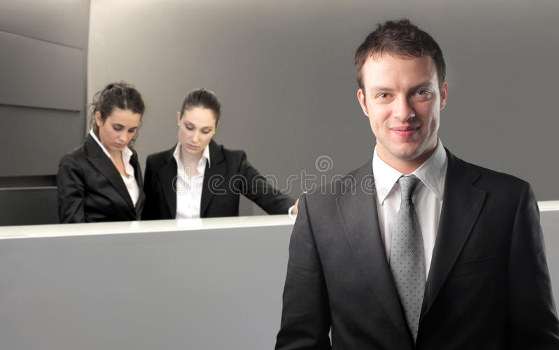 Download Reception stock image. Image of professional, corporate - 14143451