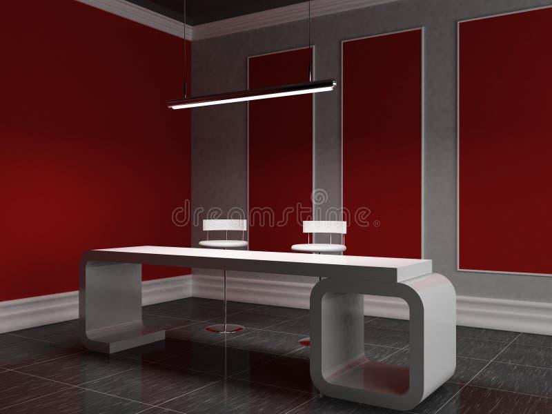 Reception vector illustration