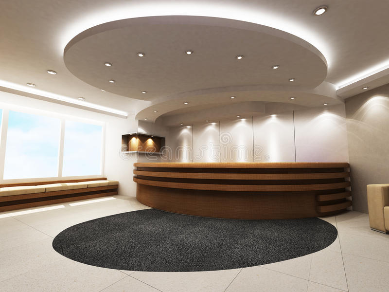 Download Reception Counter stock photo. Image of architecture - 19260916