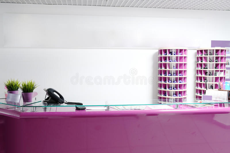 Reception desk royalty free stock image