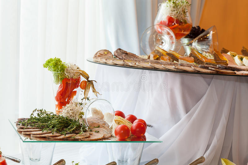 Download Reception dishes stock image. Image of appetizer, nutrients - 33602743