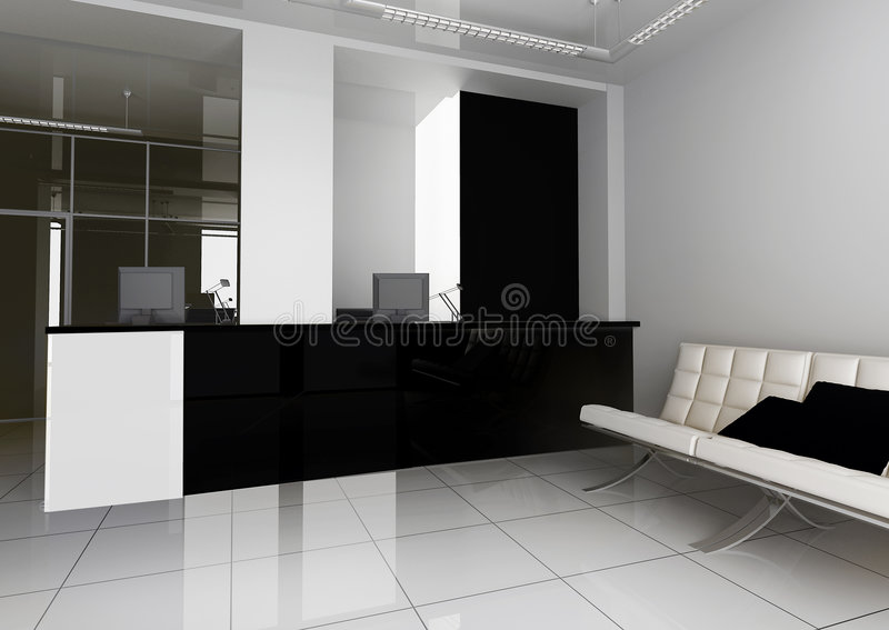 Reception in office royalty free stock photography