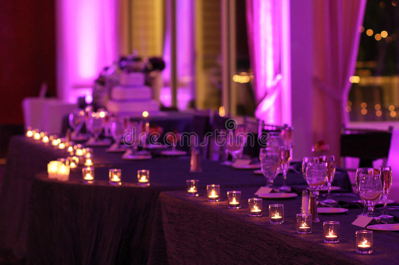 Reception Time. stock photography
